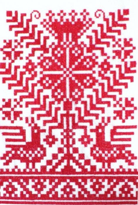Обереги древних славян вышивка