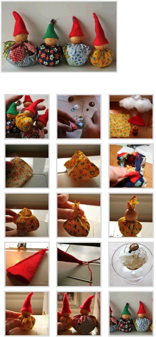 Кукла своими руками из подручных материалов фото